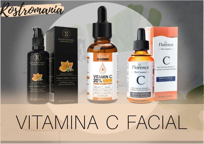 mejores vitaminas C para la cara