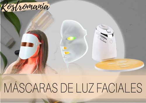 mejores máscaras faciales de luz